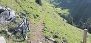 An der Veranstaltung «alpsteinbike.ch» darf man hier mit dem Velo nicht durchfahren, sonst schon. (Bild: Christiana Sutter)