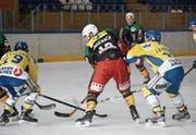 Beide Partien zwischen Uzwil (gelb) und Wil waren hart umkämpft. (Bild: David Metzger)