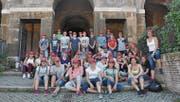 Die Ministranten sammelten auf der Romreise viele Eindrücke und Erfahrungen beim Besichtigen wichtiger Sehenswürdigkeiten. (Bild: PD)