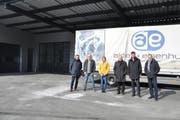 Die Vereinsmitglieder: (von links) Ueli Weber, Präsident Luzian Liebich, Lisa Bächler, Christian Spoerlé, Robin Alder und Pascal Rentzmann. (Bild: Sabine Schmid)