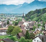 Der Steuerfuss in Berneck liegt derzeit bei 92 Prozent. (Bild: Archiv/Benjamin Manser)
