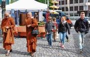 Auch der Buddhismus war in Altstätten vertreten. (Bild: René Jann / mehr Bilder auf rheintaler.ch/bilderstrecken)