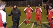 Trainer Daniel Eugster führt das U19-Team des FC Altstätten verstärkt zum zweiten Mal ans internationale U19-Turnier. (Bild: Yves Solenthaler)