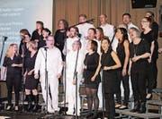 «Gossau Gospel Choirs» bewegt auch im «Werk 1». (Bild: Manuela Bruhin)