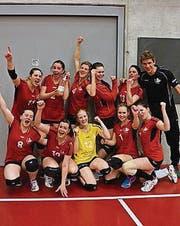 Aufgestelltes Volleyteam. (Bild: pd)
