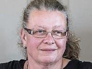 SVP verzichtet auf Kandidatur. Medienkonferenz in der Miltiärkantine. Karin Winter-Dubs (Präsi) (Bild: Hanspeter Schiess)