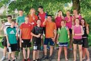 Das Siegerteam EagleFlyers freut sich riesig über seinen erfolgreichen Einsatz bei der «Mosliger Stafette». (Bild: pd)