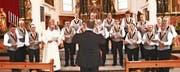 Der Männerchor Kobelwald erntete mit seinen schön vorgetragenen Liedern viel Applaus. (Bilder: pd)
