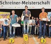 Gewinner Sven Bürki (Mitte) mit Simon Jud (links) und Fabio Holenstein, Bazenheid. (Bild: pd)