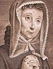 Juliane von Krüdener, sie lebte von 1764 bis 1824, war keine Revolutionärin, sondern eine naiv Betende, um 1820. (Bild: PD)
