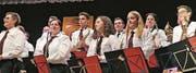 Die Stadtmusik ist parat für ihre zwei Konzerte im Januar. (Bild: pd)