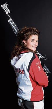 Seit 14 Jahren ist Sportschützin Andrea Brühlmann schon Mitglied der Nationalmannschaft. (Bild: PD)