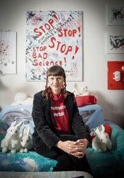 Irene Varga drehte der Toxikologie den Rücken, weil sie Tierversuche hätte absegnen müssen. (Bild: Urs Bucher)