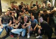 Die Mitglieder des ASC Löwen Arm Crew (LAC). (Bilder: PD)