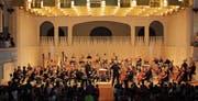 In der Tonhalle spielten auch Schülerinnen und Schüler der Musikschule Toggenburg. (Bild: PD)