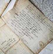 Dokumente von Conrad Gessner in der Vadiana (Bild: Michel Canonica (Michel Canonica))