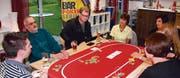 In der Laser-Bar in Balgach haben bisher drei Turniere der Bar Poker Series stattgefunden. Die Teilnehmerzahl ist stetig gewachsen. (Bild: pd)