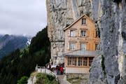 Das Bergrestaurant Aescher beim Wildkirchli gibt erneut Anlass zur Diskussion. (Bild: Urs Jaudas)
