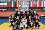 Der UH Appenzell verstärkte seine Mannschaft für das Turnier in Tschechien mit Spielern aus Widnau. (Bild: PD)