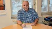 Orlando Simeon ist seit drei Jahren Schulratspräsident der Gemeinde Kirchberg. (Bild: Beat Lanzendorfer)