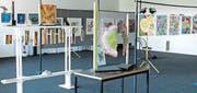 Auf 170 Quadratmetern stellen fünf Rheintaler Kunstschaffende aus. (Bild: pd)