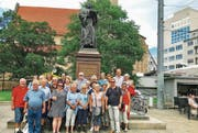 Die Reisegruppe befindet sich auf der Suche nach Spuren des Reformators Martin Luther. (Bild: PD)