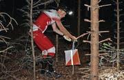 Daniel Hubmann gelang ein idealer Lauf, der zum Sieg und zum ersten Meistertitel der Saison führte. (Bild: pd)