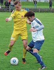 Michel Jonovic (r.) erzielte den 2:2-Ausgleich. (Bild: Günther Böhler)