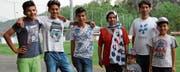 Die Familie Heydari fühlt sich auch dank den Bekanntschaften durch den Fussballclub wohl in Montlingen. (Bild: dsi)