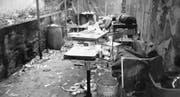 Bienenhüsli: Drogenelend im Jahr 1990, morgens um 7 Uhr. (Bild: Stadtpolizei)