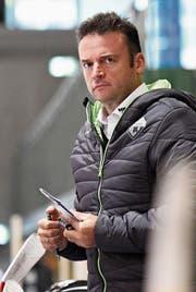 Selbstbewusst, aber dennoch bescheiden ins Playoff: HCT-Coach Stephan Mair. (Bild: Andy Müller/Freshfocus)