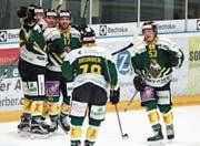 Mit jedem Sieg werden die Spieler des HC Thurgau auch für andere Clubs begehrenswerter. (Bild: Mario Gaccioli (Weinfelden, 5. Januar 2018))