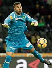 «Das Tor nehme ich auf meine Kappe»: St. Gallens Goalie Dejan Stojanovic. (Bild: Pascal Muller/Freshfocus)