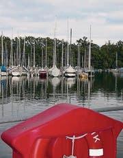 Der Hafen in Langenargen. (Bild: dbu)