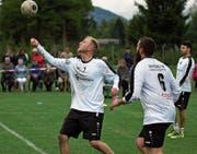 Wollen sich für den Finalevent qualifizieren: Fabian Marty und Lukas Lässer vom SVD Diepoldsau. (Bild: pd)