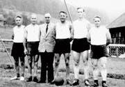 Teilnahmen an Turnfesten gehörten bei der Wattwiler Männerriege zum festen Jahres- programm.