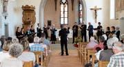 Mit «Vielstimmig – Vielschichtig» trat die Kantorei Toggenburg am Sonntag in der Kirche Oberhelfenschwil vor ihr Publikum. (Bild: Lisa Leisi)