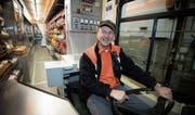 Der Wittenbacher Roland Früh arbeitet seit 47 Jahren bei der Migros und freut sich, nach Jahrzehnten wieder einen Verkaufswagen zu steuern.