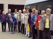 Die Frauen reisten gemeinsam nach Appenzell und liessen sich in die Geheimnisse der Bittergetränke einweihen. (Bild: PD)