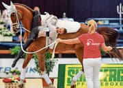 Zweimal lag Nadja Büttiker vorne in der Rangliste, am Ende resultierte der zweite Rang. (Bild: Daniel Kaiser)