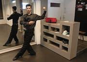 Rafael Herbas eröffnet morgen Samstag seine neue Tangoschule. (Bild: Manuel Roth)