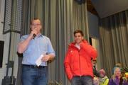 Gemeindepräsident Renato Truniger: «Wir sind stolz auf Joel.»