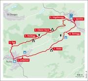 Karte der Route (Bild: An Le)