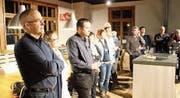 Starke Beteiligung an der Neujahrsbegrüssung des LGV (Bild: Martin Knoepfel)
