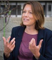 Sonja Lüthi: «Ich möchte nicht spezifisch gegen den Autoverkehr vorgehen.» (Bild: Urs Bucher (St. Gallen, 21. August 2017))
