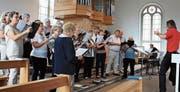 Der katholische Kirchenchor Marbach hat ein abwechslungsreiches Jahr hinter sich. (Bild: pd)