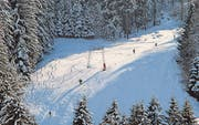 Traumhaft-nordische Landschaft am Skilift Oberegg-St. Anton. (Bild: Peter Eggenberger)