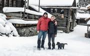 André und Anne Riehle sind erst seit zwei Wochen in der Ostschweiz und erleben bereits ihr erstes Abenteuer. (Bild: PD)