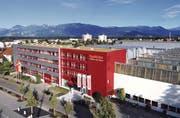EgoKiefer-Hauptsitz in Altstätten: Das Tochterunternehmen der AFG Arbonia Forster produziert auf Hochtouren. (Bild: z. Vfg.)