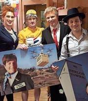 Die 2002 gegründete Gruppe «Überfliegair» ist seit Längerem als Quartett erfolgreich. (Bild: pd)